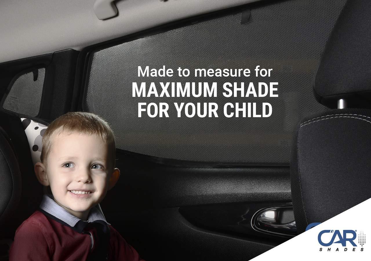 Tailored Fit UV Car Shades Volvo XC90 03-14 Rear Door Set of 2