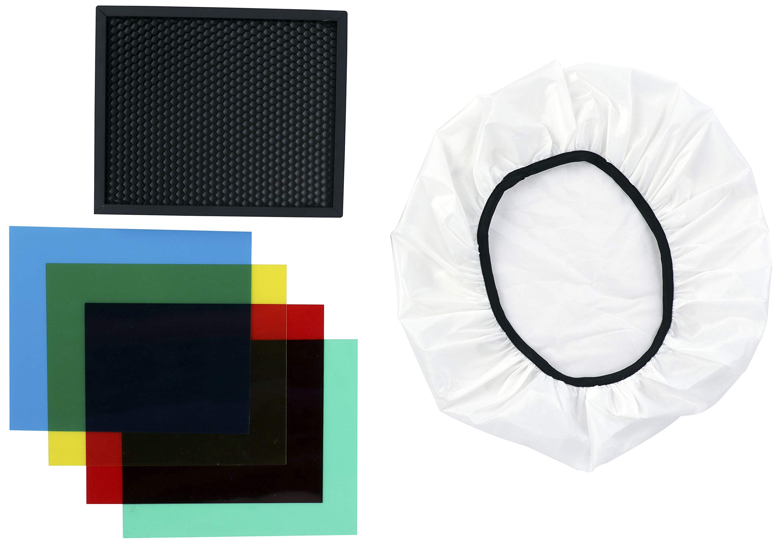 Phottix Kali600 Honeycomb Grid and Gel Kit (PH20900) by Phottix