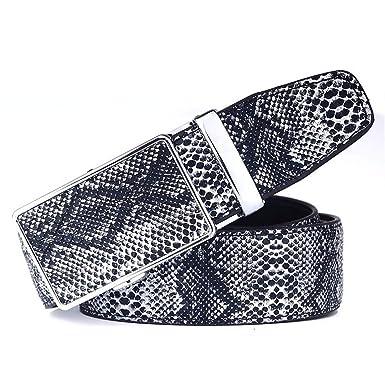 Tier BeltSchlange Tattoo Automatische Schnalle BeltJeans