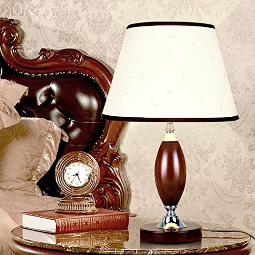 Dongyd Lámparas de mesa, Chino Clásico Retro Lámpara de Escritorio ...