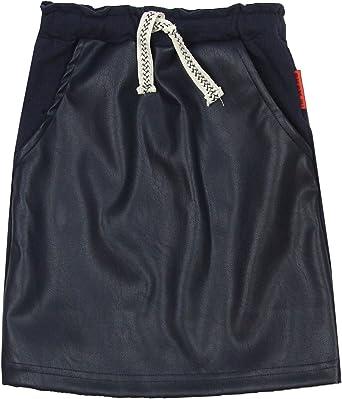 no!no Sizes 4-14 NONO Girls Pleather//Terry Skirt