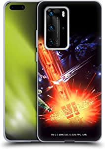 Head Case Designs Officially Licensed Star Trek The Undiscovered Country Movie Posters TOS Soft Gel Case Compatible with Huawei P40 Pro Plus
