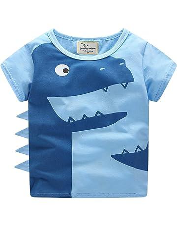 MICKEY MOUSE T-shirt per bambini-DISNEY TOPOLINO-Marrone-LOGOSHIRT