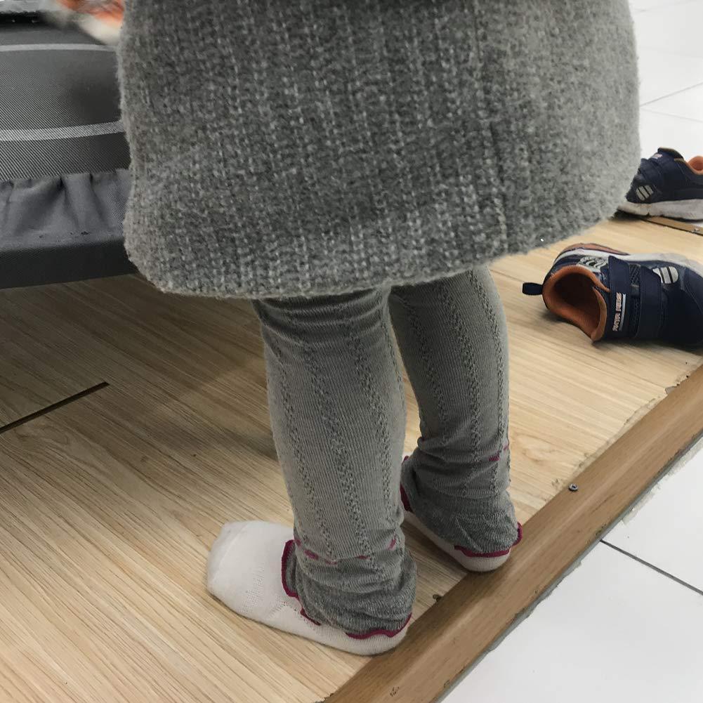 Leggings da Bambina da Ragazza Di Cotone Da 3 Paia Pantaloni da Leggins da Ragazze 2-6 Anni