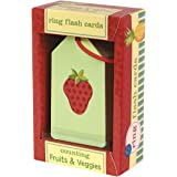 Mudpuppy Counting and Math Flash Cards with Fruits and Veggies Illustrations for Ages 3 & Older – 26 Flash Cards in Set
