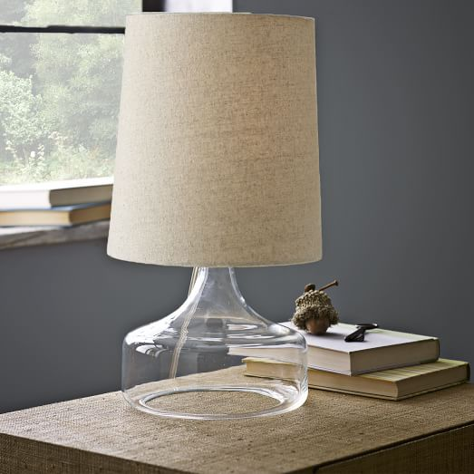 Perch Table Lamp - Clear | west elm