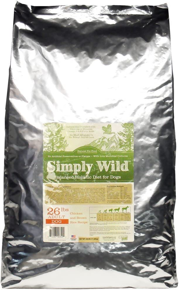 Simply Wild Chickenand Brown Rice for Adult Dogs