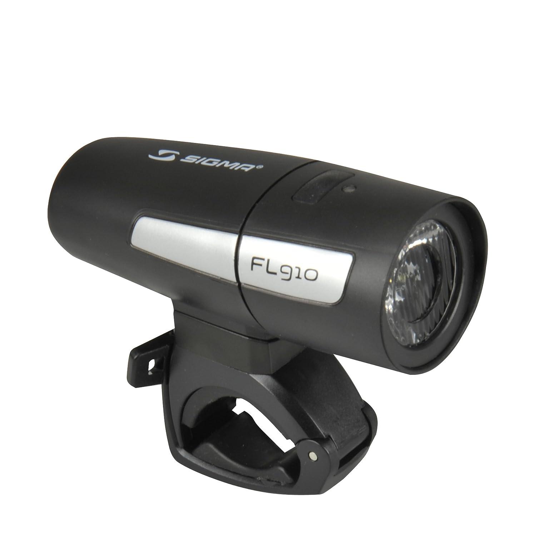 Sigma Uni FL910 Batterie LED Frontleuchte, Schwarz, One Size SIGBH #Sigma 66574