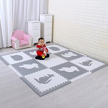 Suelo Para Ninos Y Infantiles EVA Puzzle ColchonetaPara Ninos Y Infantiles EVA Puzzle Colchonetas Puzzle/Rompecabezas para cubrir el suelo ...