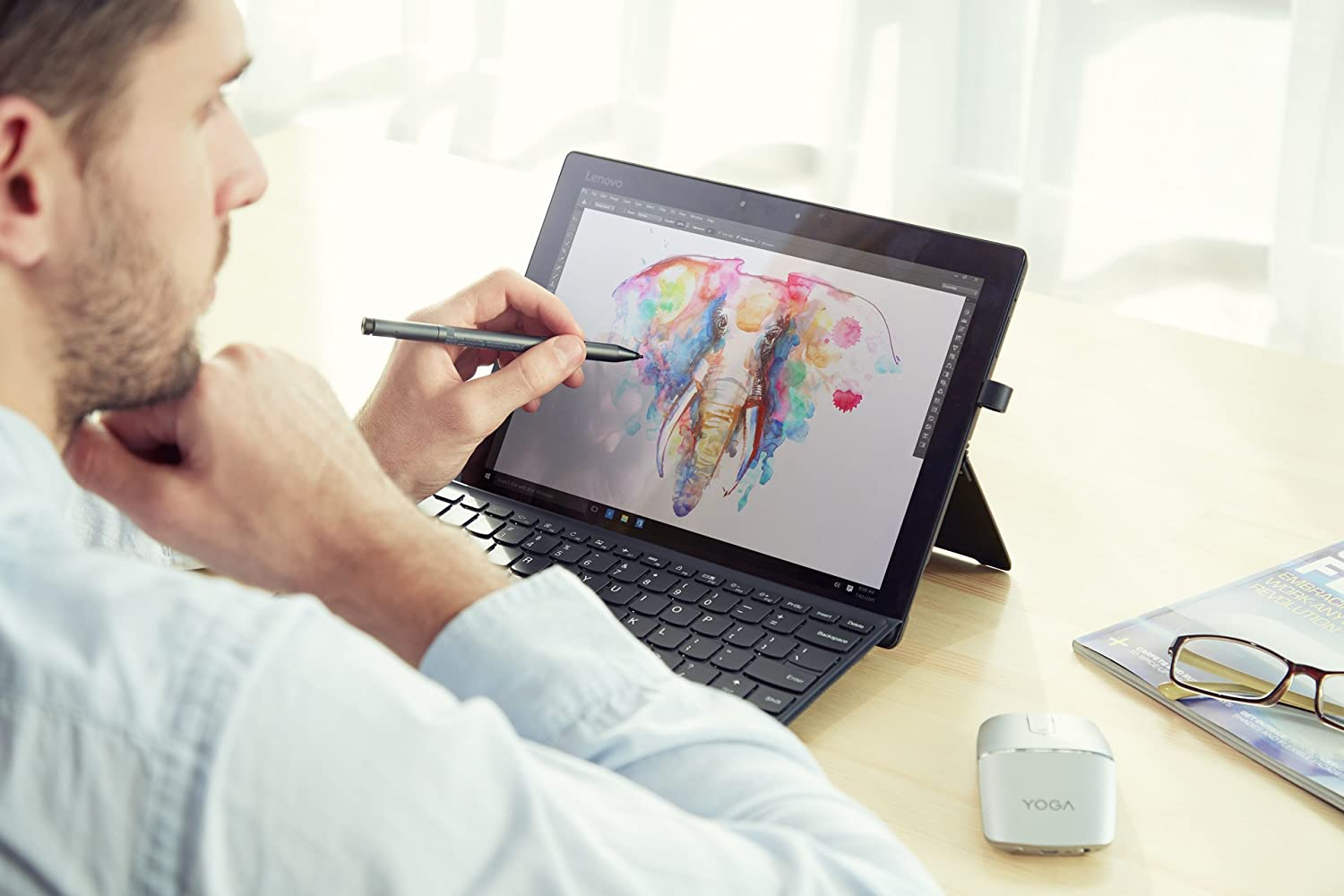 Amazon.com: Lenovo Active Pen 2,Up to 4096 Leves of Pressure ...