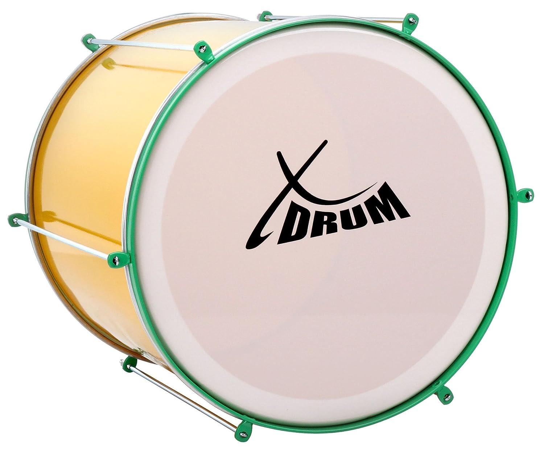 """Surdo Samba Trommel brasilianische Basstrommel Aluminium Percussion 16/"""" x 16/"""""""