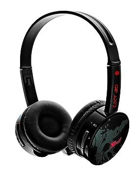 Trust GXT 20 Auriculares inalámbricos para juegos, negro: Amazon.es: Electrónica