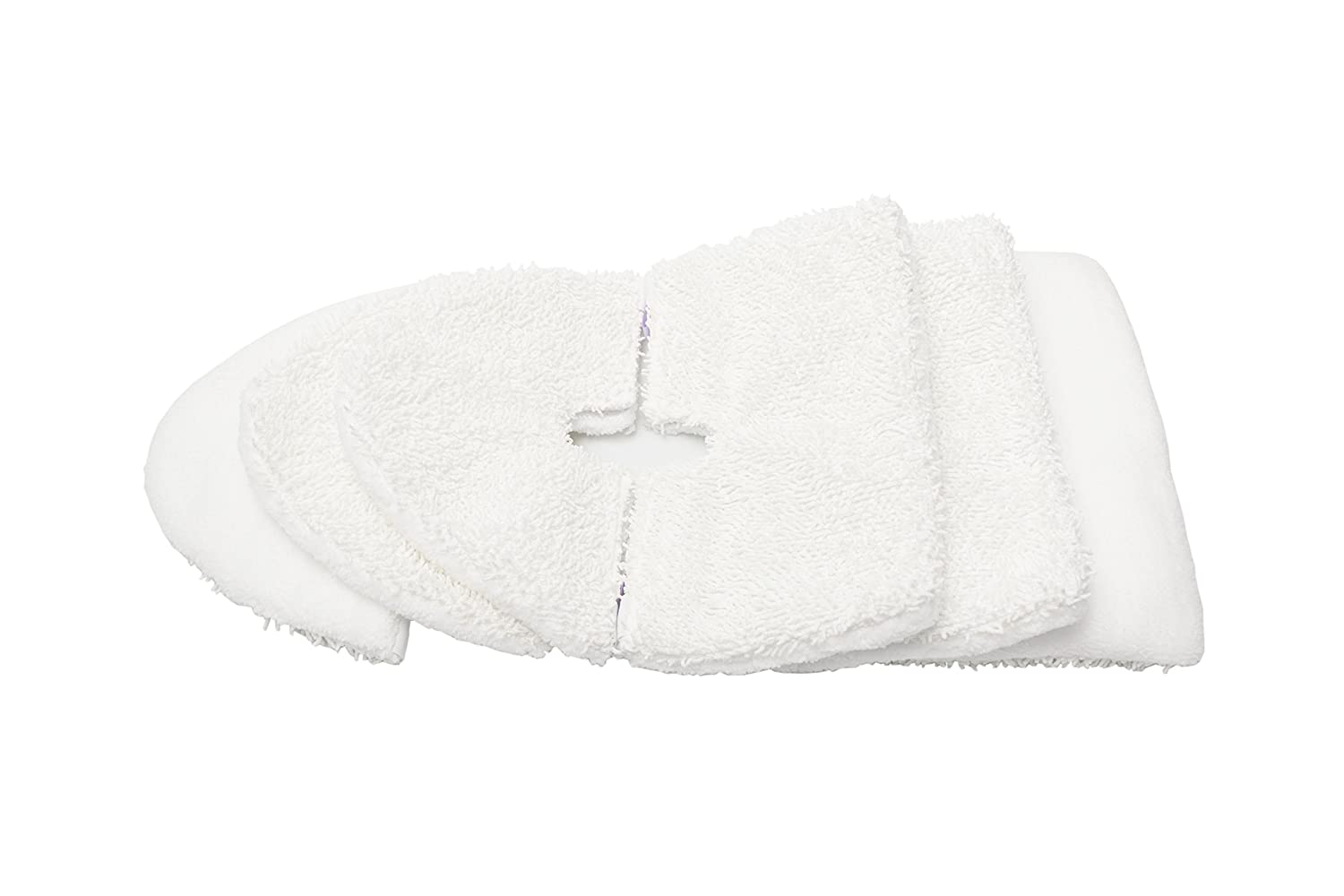 LTWHOME Microfibre Steam Pocket Mop Pads Fit for Shark S3501, S3601, S3801CO, S3901(Pack of 12) Ltd.