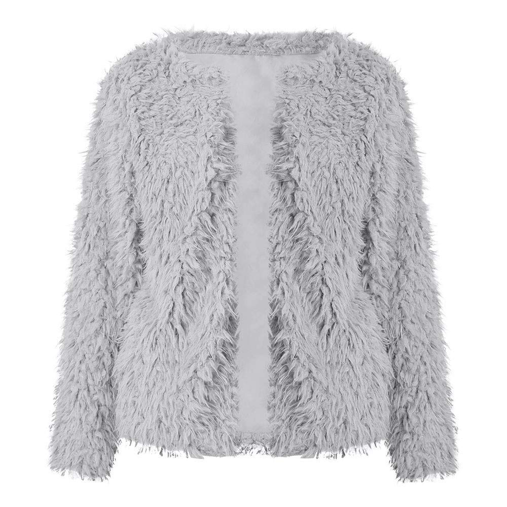 ☆ Rovinci ☆ ¡Hola! Las Mujeres de Manga Larga sólido con Capucha suéter Abrigo de Invierno cálido Abrigo de Cremallera cómodo algodón Abrigo Outwear: ...