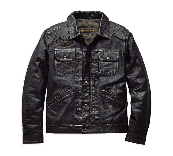 Harley Davidson - Chaqueta - para Hombre: Amazon.es: Ropa y ...