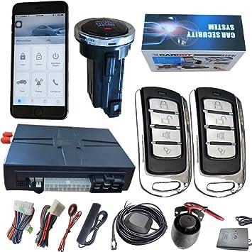 cardot Alarma de coche con GPS, Tracking Aplicación móvil ...