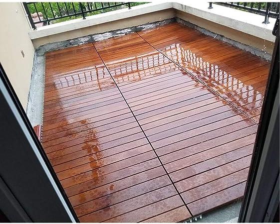 Jardín y patio Revestimientos Azulejos Suelo de madera piso de ...