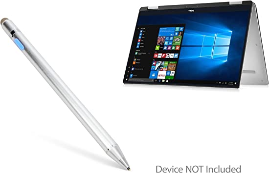 Broonel Red Fine Point Digital Active Stylus Pen Compatible with The DELL XPS 13 XPS 13 2in1