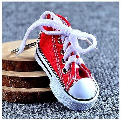 Amazon.com: Llavero para mujer, diseño de zapatillas de ...
