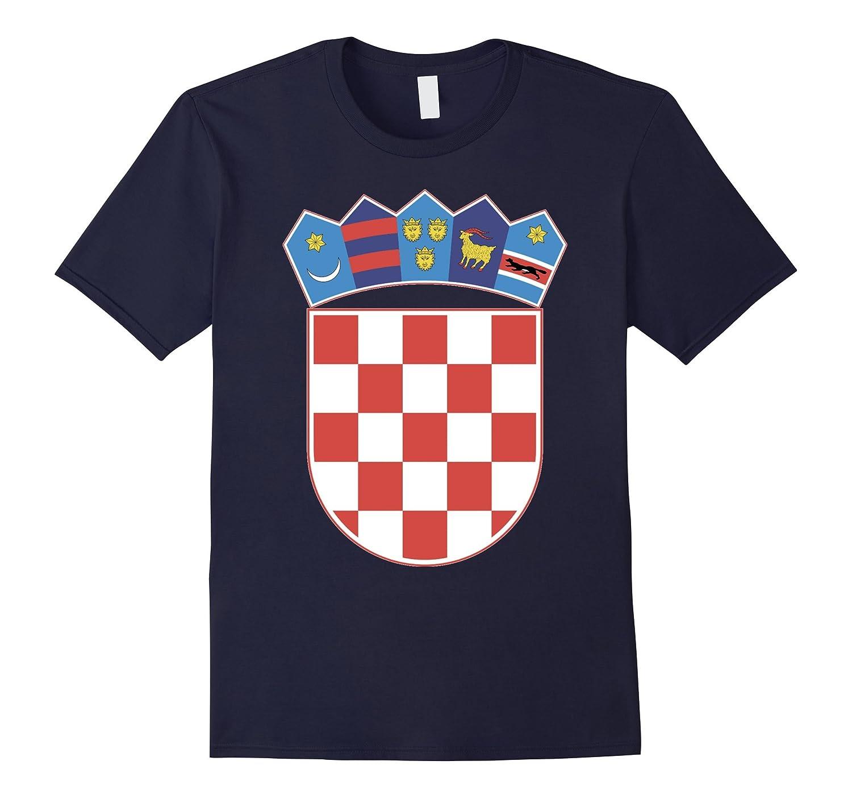 Croatia Coat Of Arms T Shirt National Croatian Emblem tee-TH