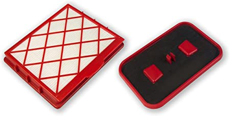 1 Filtro HEPA H12 Microfiltro de higiene + 1 Filtro de carbón Activo Lux 1, Lux 1 Classic, Lux 1 Royal, Lux D 820: Amazon.es: Hogar