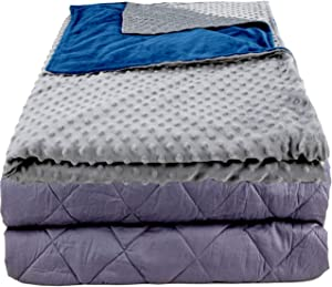 """Aviano 10 lbs Weighted Blanket (Cooling Cotton) 