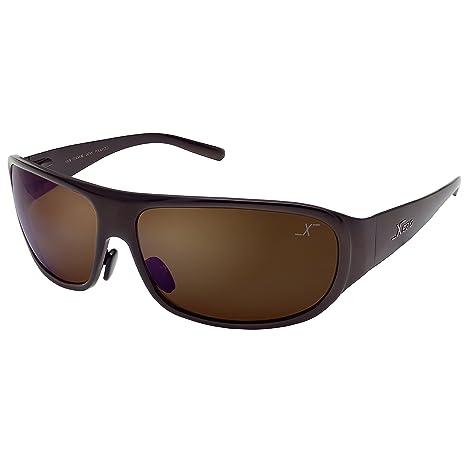 Xezo Base Curva 8, Titanio sólido UV 400 Gafas de Sol ...
