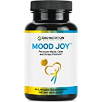 5-HTP Capsule | Fresh Traditional Herbs: St Johns Wort, Ashwagandha, Turmeric | Mood Joy for Mood Uplift, Calm, Sleep & Support Stress, Mental & Emotional Wellbeing – Happiness | Trio Nutrition*