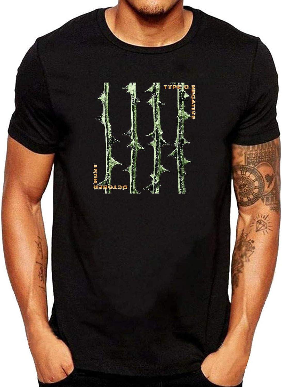 ZOMMING tee Type O Negative October Rust Hombre Camiseta Negro/Hombre T Shirts Negro