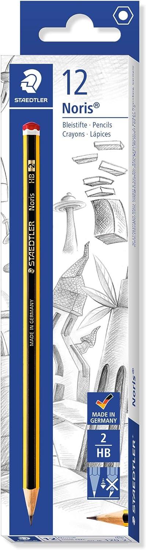 12 Pezzi /&  Basics Correttore a nastro Staedtler 120-2 Matita in Grafito HB 4,2 mm x 10 m confezione da 10