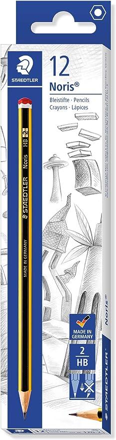 Staedtler Noris - Lapiceros, Material Escolar, Pack de 12, Gris ...