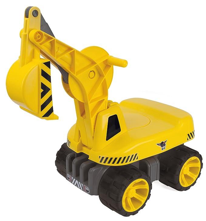 BIG 800055811 - Power Worker Maxi-Digger, gelb
