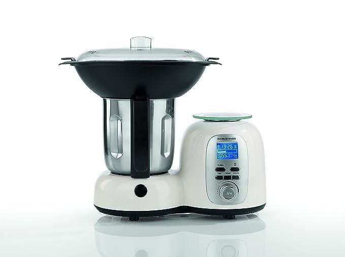 Amazon De Gourmetmaxx Thermo Multi Kuchenmaschine Mit Kochfunktion