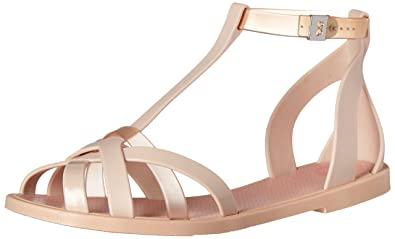05e016dd22 Amazon.com | Zaxy Women's Frozen Jelly Sandal | Flats