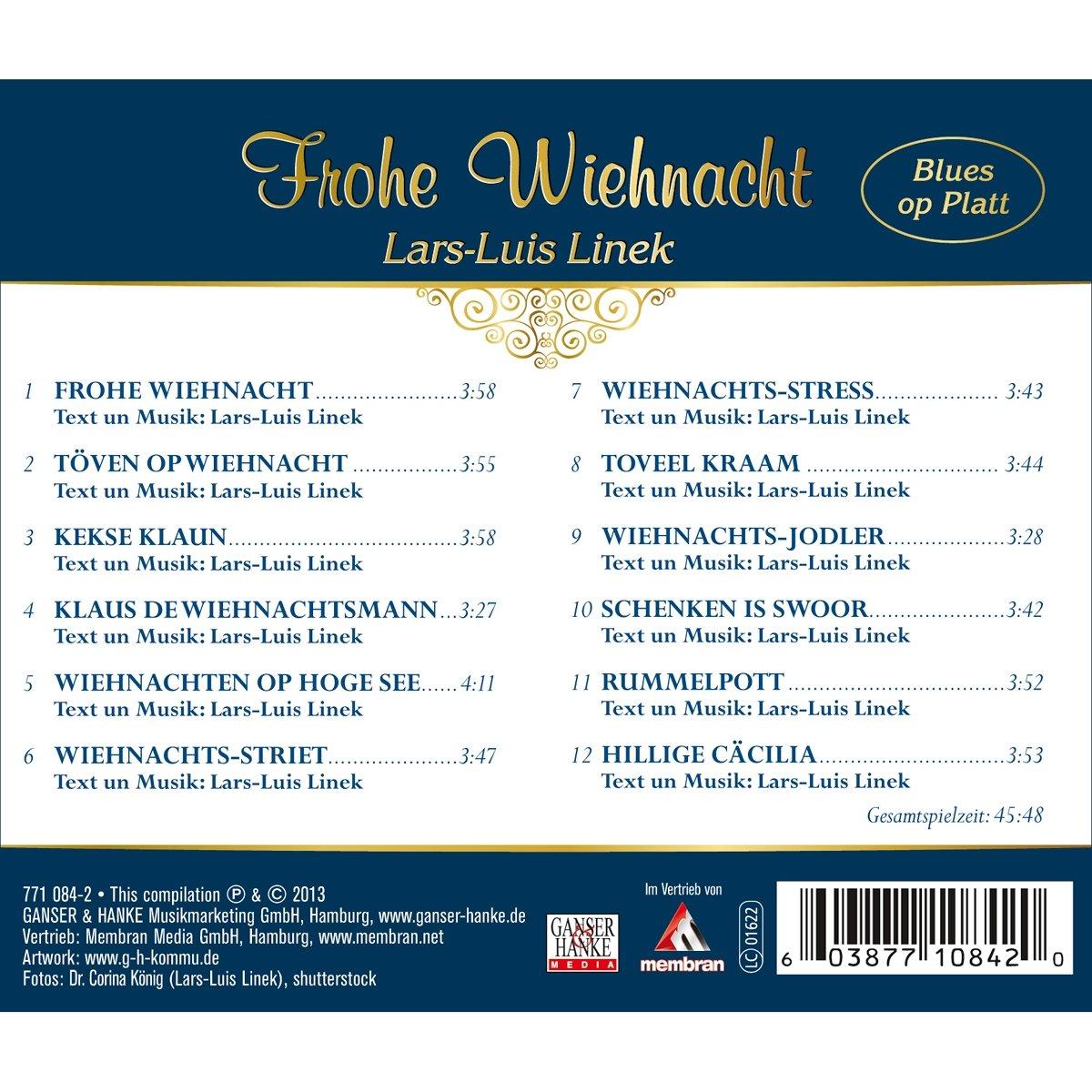 Frohe Weihnachten Plattdeutsch.Frohe Wiehnacht Blues Op Platt Plattdeutsche Weihnachtslieder