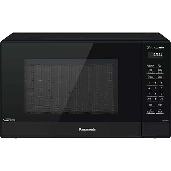 Amazon.com: Panasonic Microwave Oven NN-SN936B Black ...