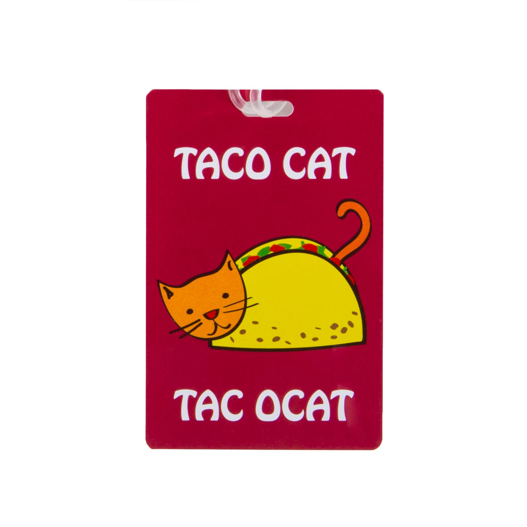 Travelon Personal Expression Luggage Tag,Taco Cat by Travelon (Image #1)