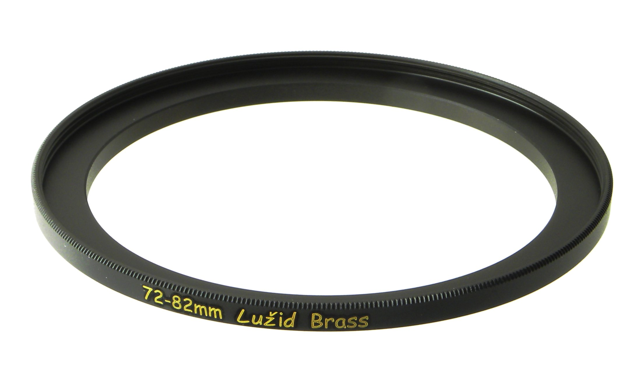 LUŽID Brass 72mm to 82mm Step Up Filter Ring Adapter 72 82 Luzid by LUŽID