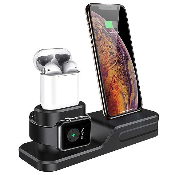 Amazon.com: Seacosmo - Cargador 3 en 1 compatible con Apple ...