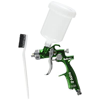 Astro EUROHVT1 EuroPro Forged HVLP Touch Up Gun with 1mm Nozzle and Plastic Cup: Automotive