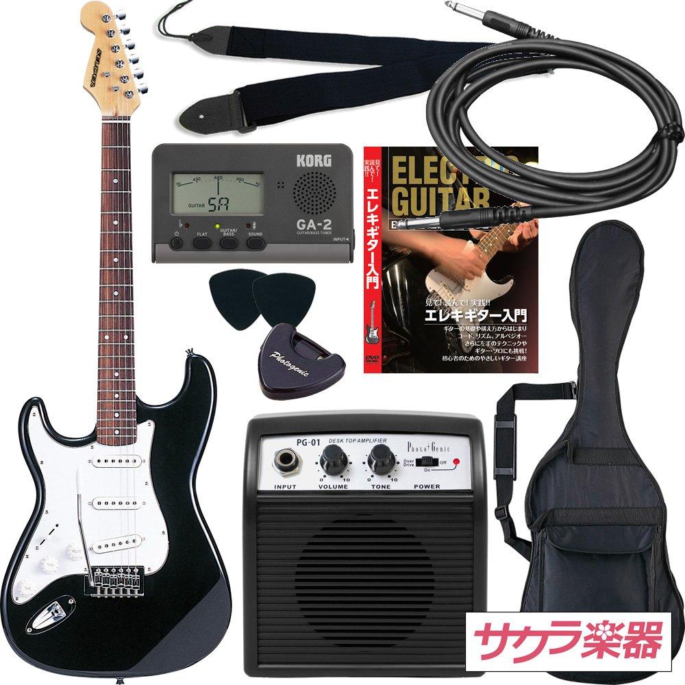 【期間限定お試し価格】 SELDER セルダー エレキギター ブラック ストラトキャスタータイプ サクラ楽器オリジナル ST-23LH エレキギター/BK SELDER 初心者入門リミテッドセット レフティ 左利き用 ブラック B008MTC2EI, ビタミンガーデン:398529c8 --- suprjadki.eu