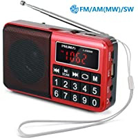 PRUNUS Portable SW / FM / AM (MW) MP3 Radio with Neodymium Speaker. Large Button and Large Display. Stores Stations Automatically (DO NOT SUPPORT MANUAL MEMORY/DELETE STATIONS). Supports the Following: Flash Drive / Micro SD Card / TF Card (8GB, 16GB, 32GB, 64GB) to Allow the User to Play Stored MP3 Files.