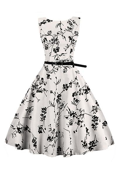Babyonlinedress Vestido Largo y Vintage de Fiesta de Noche Para Mujeres Estilo Vintage y Elegante sin