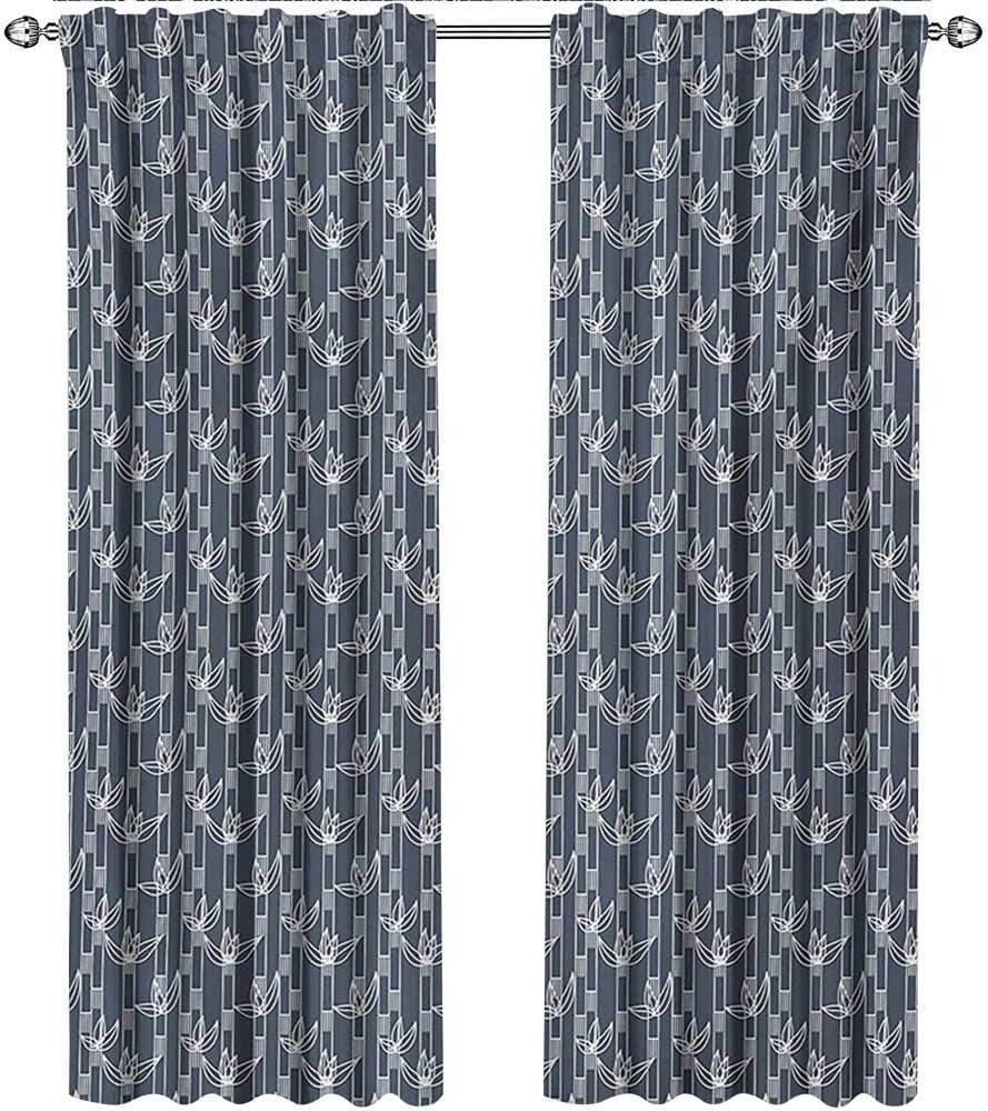 Returiy - Cortinas japonesas con Puertas correderas de Cristal ...