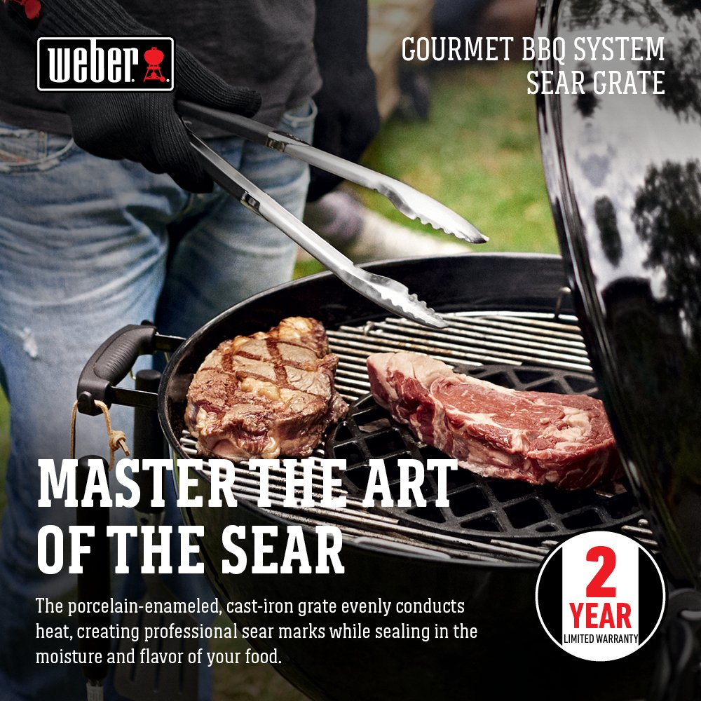 Weber 8834 Gourmet BBQ System Sear Grate by Weber (Image #3)