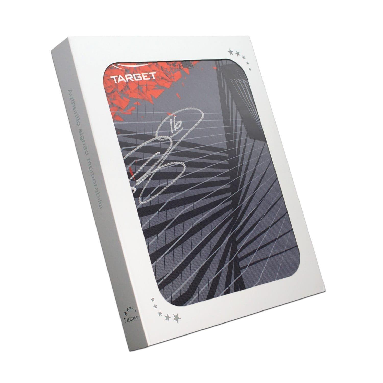 Camiseta de dardos firmada por Phil Taylor. En caja de regalo Exclusive Memorabilia