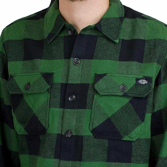 Dickies Camisa Sacramento Verde: Amazon.es: Ropa y accesorios