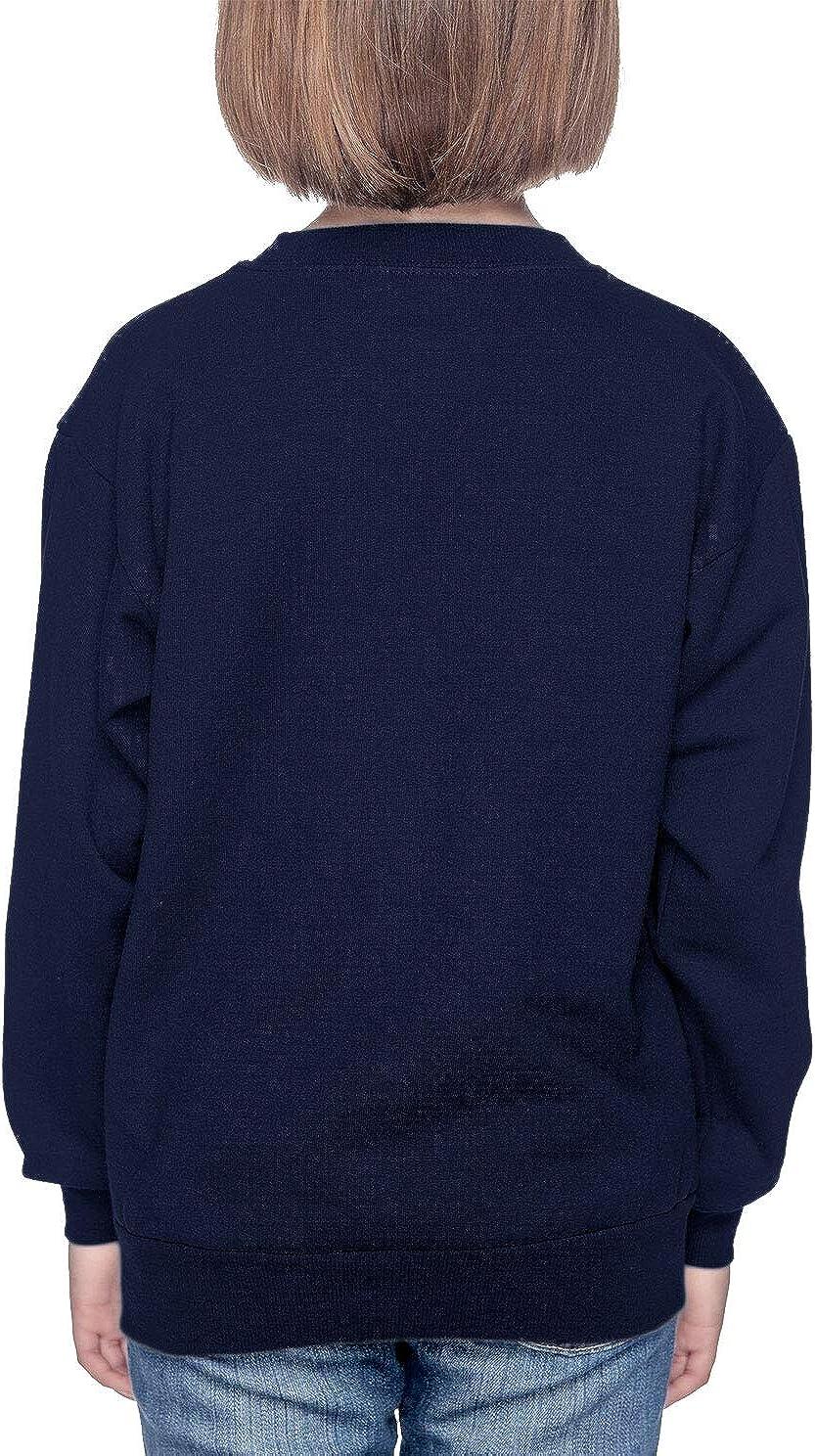 Navy Blue, Medium HAASE UNLIMITED Hello 3rd Grade Back to School Youth Fleece Crewneck Sweater