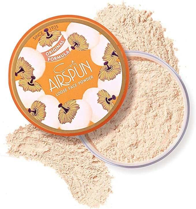Coty Airspun Loose Face Powder 2.3 oz. Translucent Tone Loose Face Powder, for Setting Makeup or as Foundation, Lightweight, Long Lasting: Amazon.com.mx: Salud y Cuidado Personal