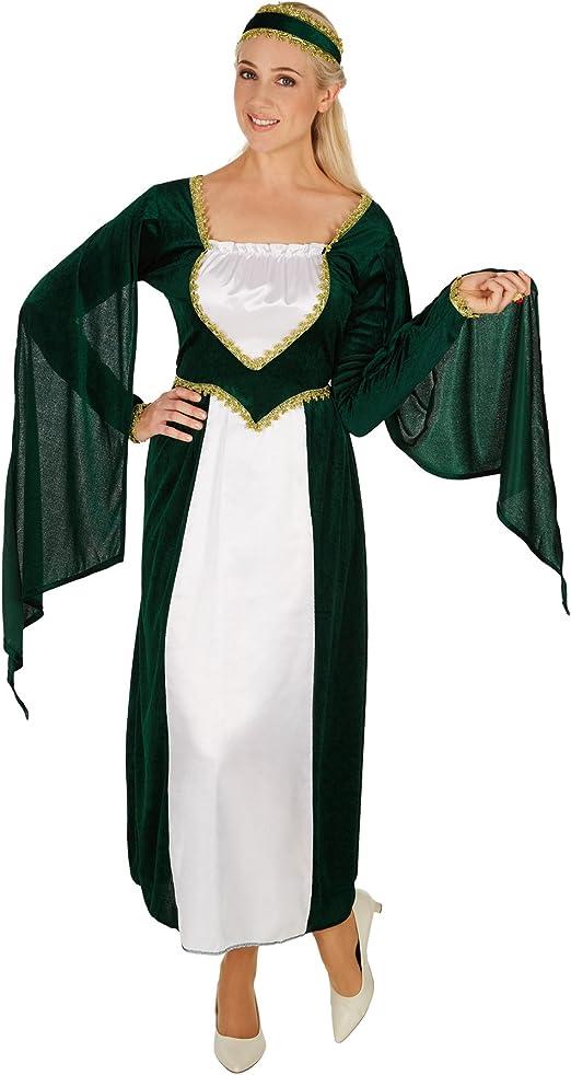 dressforfun Disfraz de Princesa del Castillo para Mujer ...